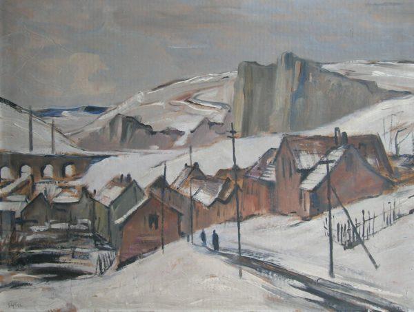 Emil Tylš obraz Hlubočepy