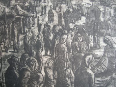Jiří Kodym obraz lept