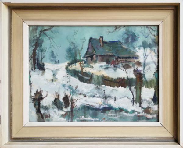 Karel Jan Sigmund: Zimní krajina