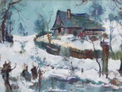 Karel Jan Sigmund obraz Zimní krajina