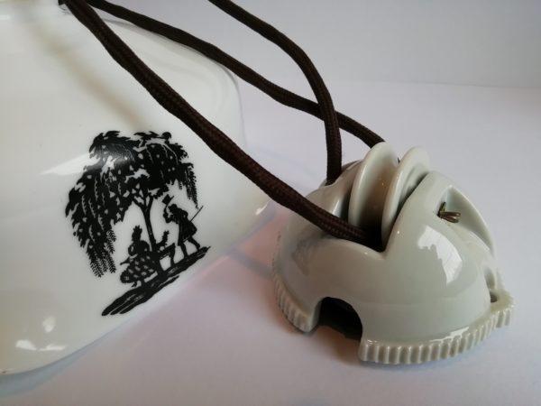 Stahovací lampa - rokoko