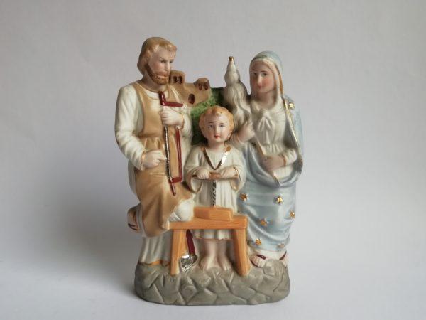 Svatá rodina figura biskvit