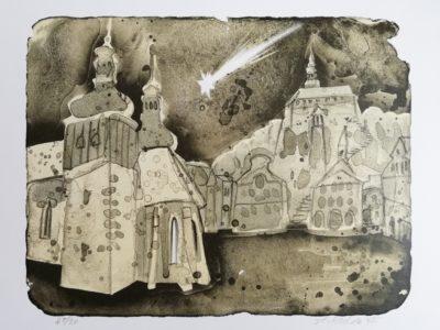 S. Kulda: Náchod litografie