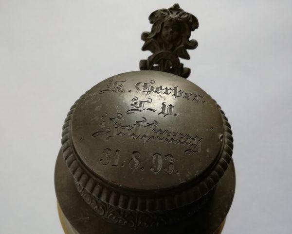 keramický korbel Mettlach