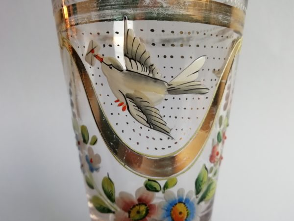 grogová sklenice vlaštovka