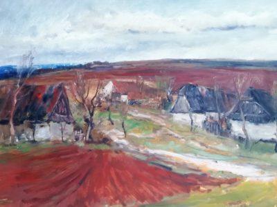Josef Vondráček obraz Podzimní krajina
