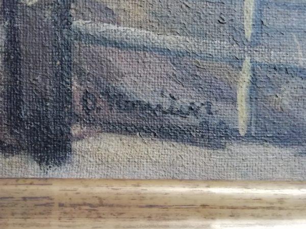 Oldřich Koníček obraz V hutích