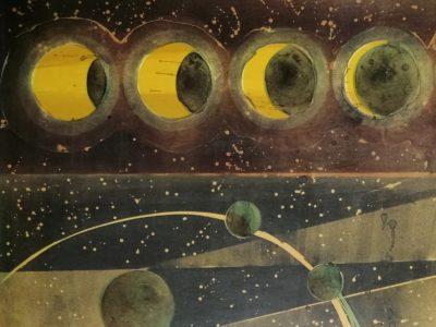 St. Kulda: Zatmění litografie