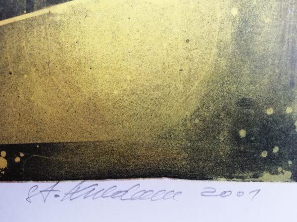 St. Kulda Zatmění litografie