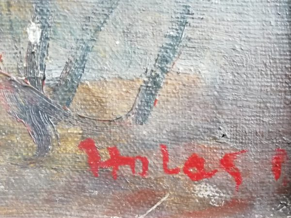 Ota Holas obraz Motiv od Ostravice
