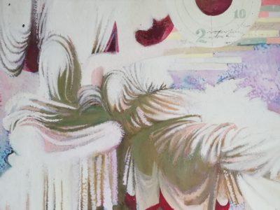 O. Jelínek obraz Drapérie