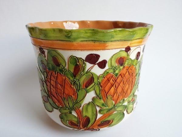 obal na květináč - keramika