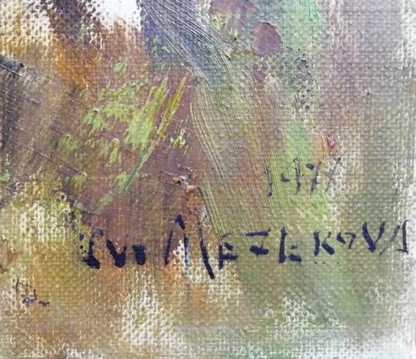 J. Winterová Mezerová obraz Houby