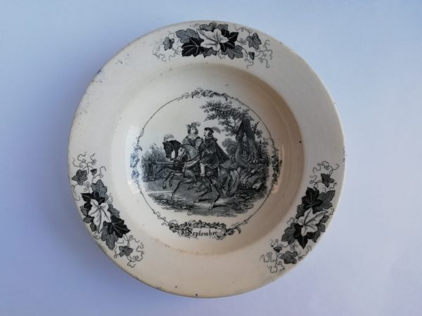 Závěsný talíř gumotisk