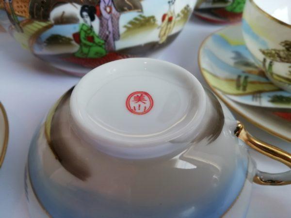 Porcelánový čajový servis asiatikum