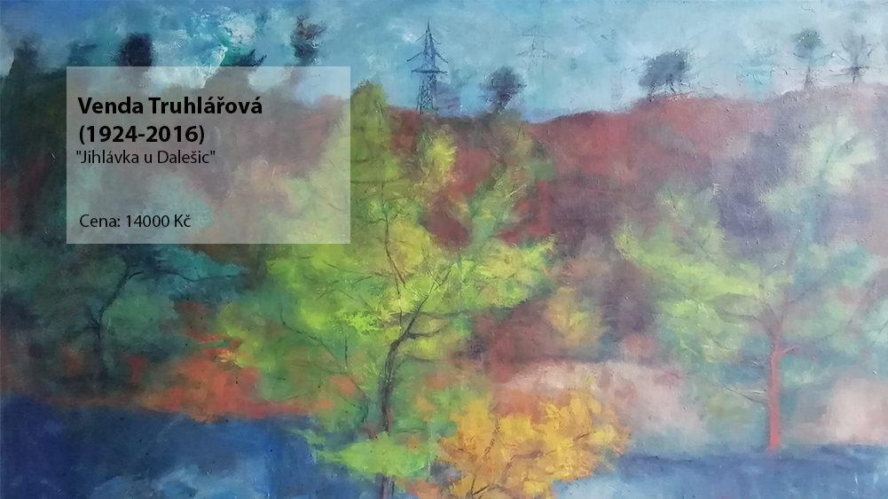 obraz Venda Truhlářová - Jihlávka u Dalešic