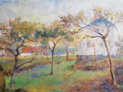 A. Rychlovský obraz Dům v zahradě