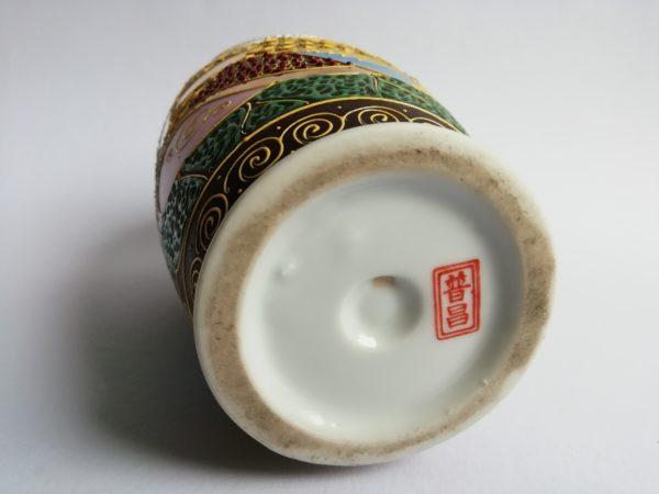 Satsuma váza Japonsko